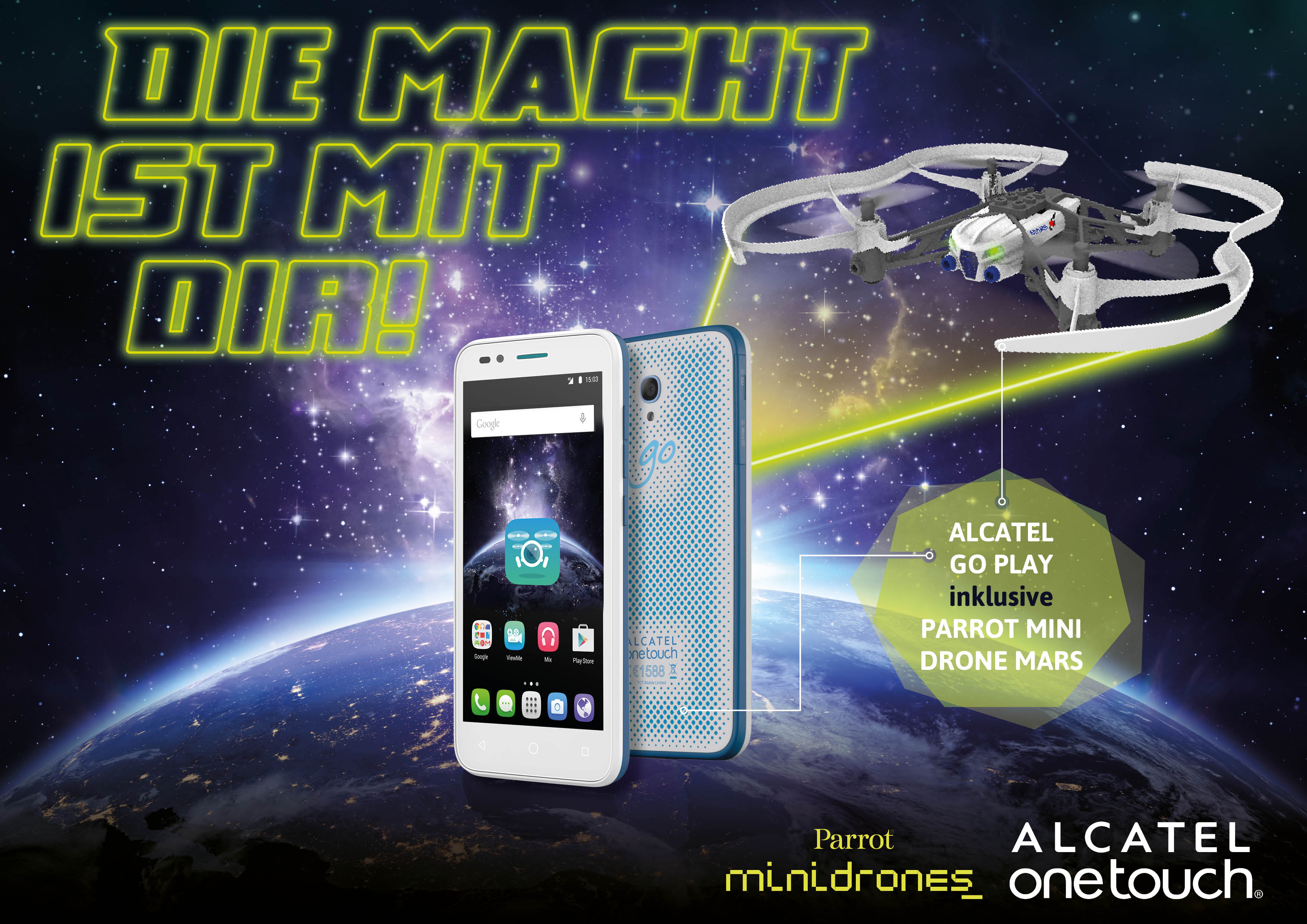 alcatel-one-touch-goplay-parrot-drohne