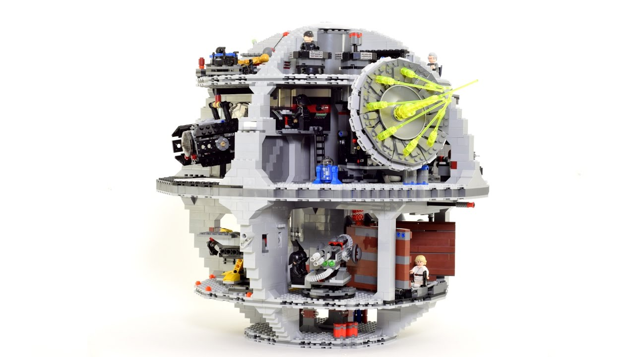 LEGO Star Wars Todesstern Death Star Stop-Motion Video