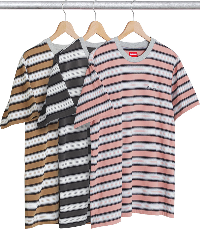 Supreme Shadow Stripe Tee