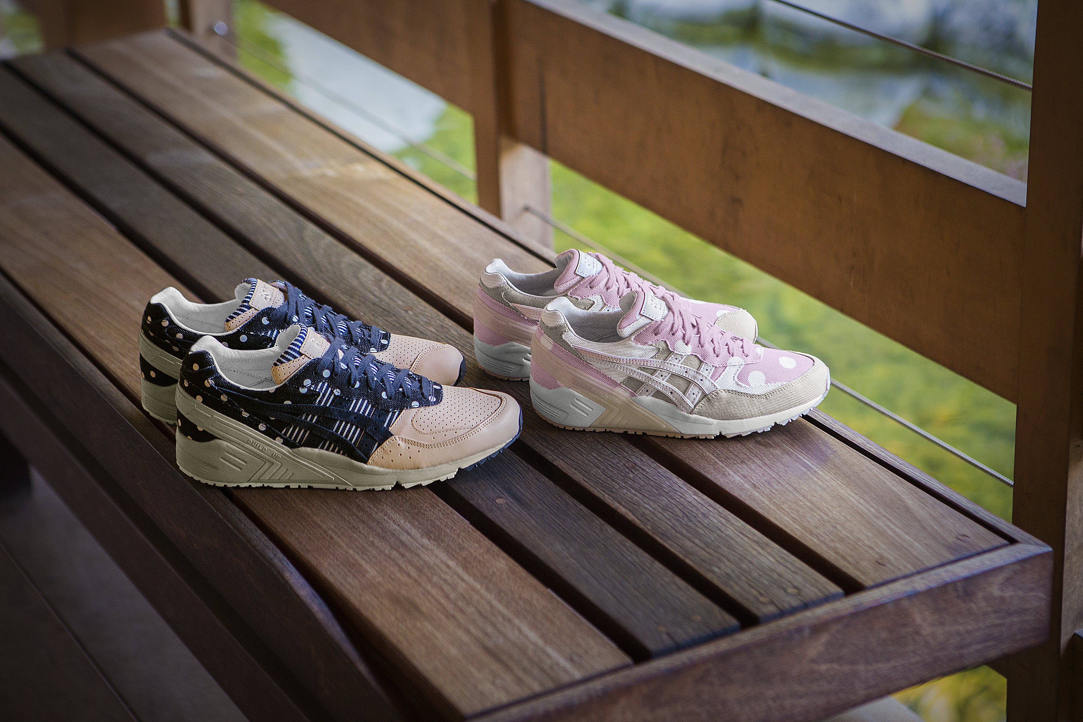 "Asics GEL-SIGHT ""Japanese Denim Pack"""