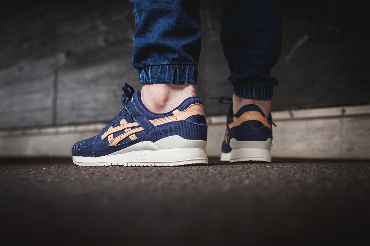 Asics Gel-Lyte III Veg tan pack