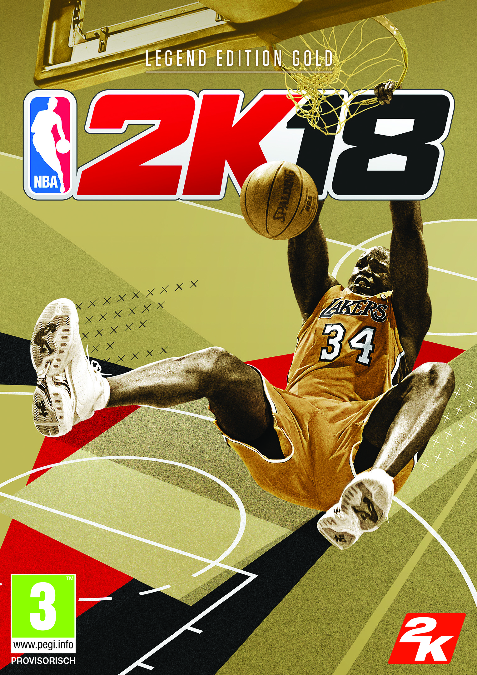 NBA 2K18 Shaq Legends Edition