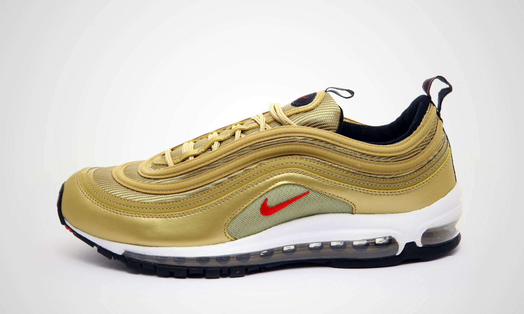 best service 90456 4bef7 Nike Air Max 97 OG Metallic Gold
