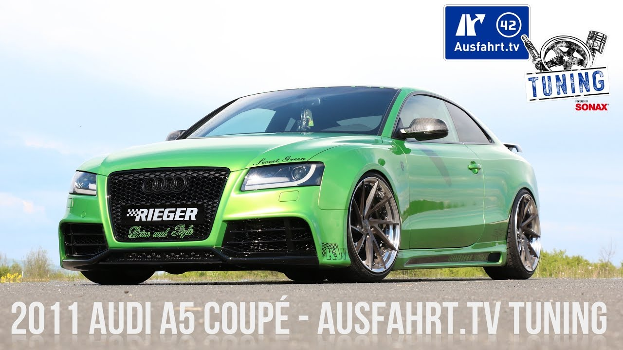 ausfahrt tv tuning folge 08 2011 audi a5 coup tuning. Black Bedroom Furniture Sets. Home Design Ideas