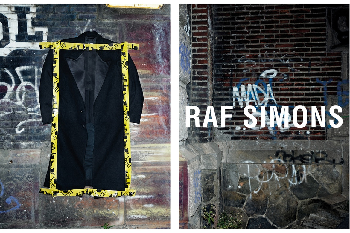 raf simons fall/winter 2017 kampagne