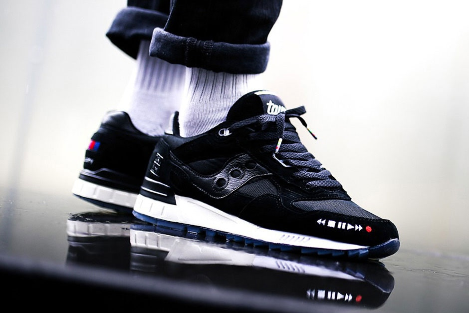 the good will out x saucony vhs