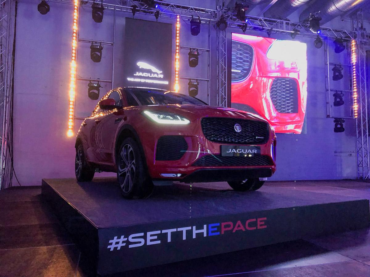 Jaguar x Alle Farben #setthepace Event