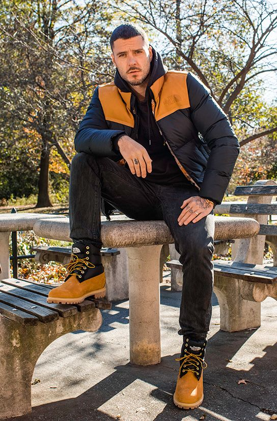 the north face timberland collabo