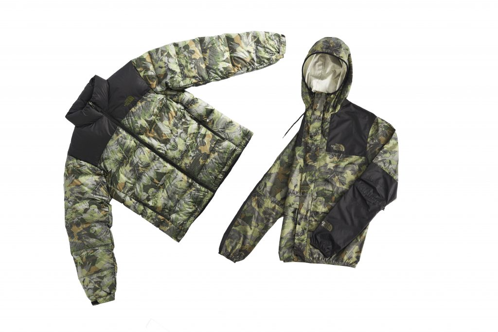 the north face tropical camo kollektion