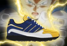 dragon ball z adidas collabo
