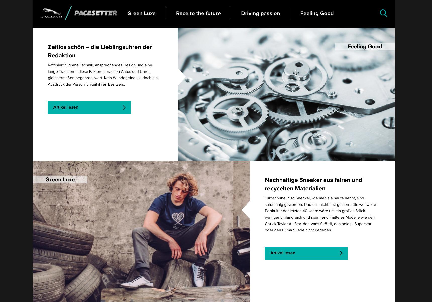 Jaguar PACESETTER hypesRus.com HYPES ARE US Sneaker