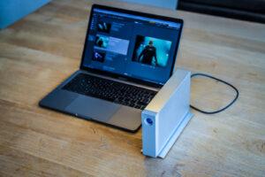 LaCie d2 Thunderbolt 3 Festplatte Test