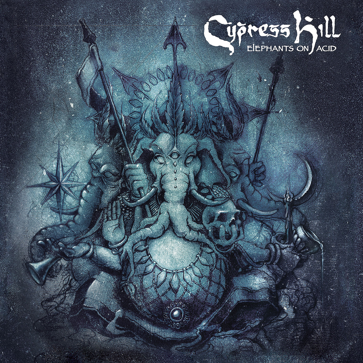 Elephants on Acid Cypress Hill Album Cover Preview