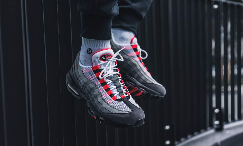 Nike Air Max 95 Solar Red Sneaker Release