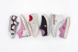 Converse Hello Kitty Collabo