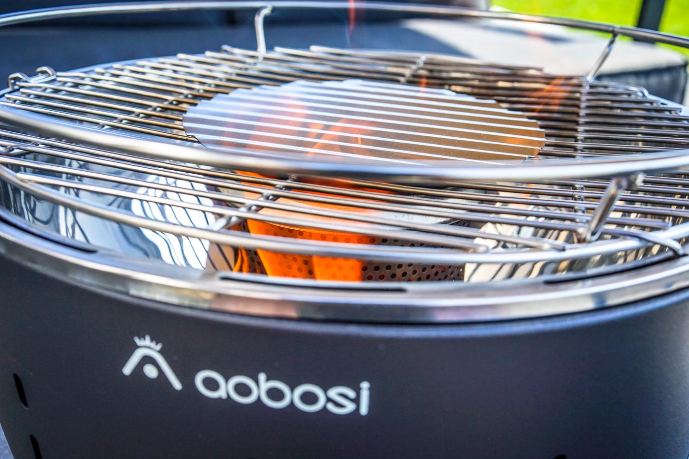 Rauchfreier Holzkohlegrill Test : Grillzeit wir testen den aobosi holzkohle tischgrill
