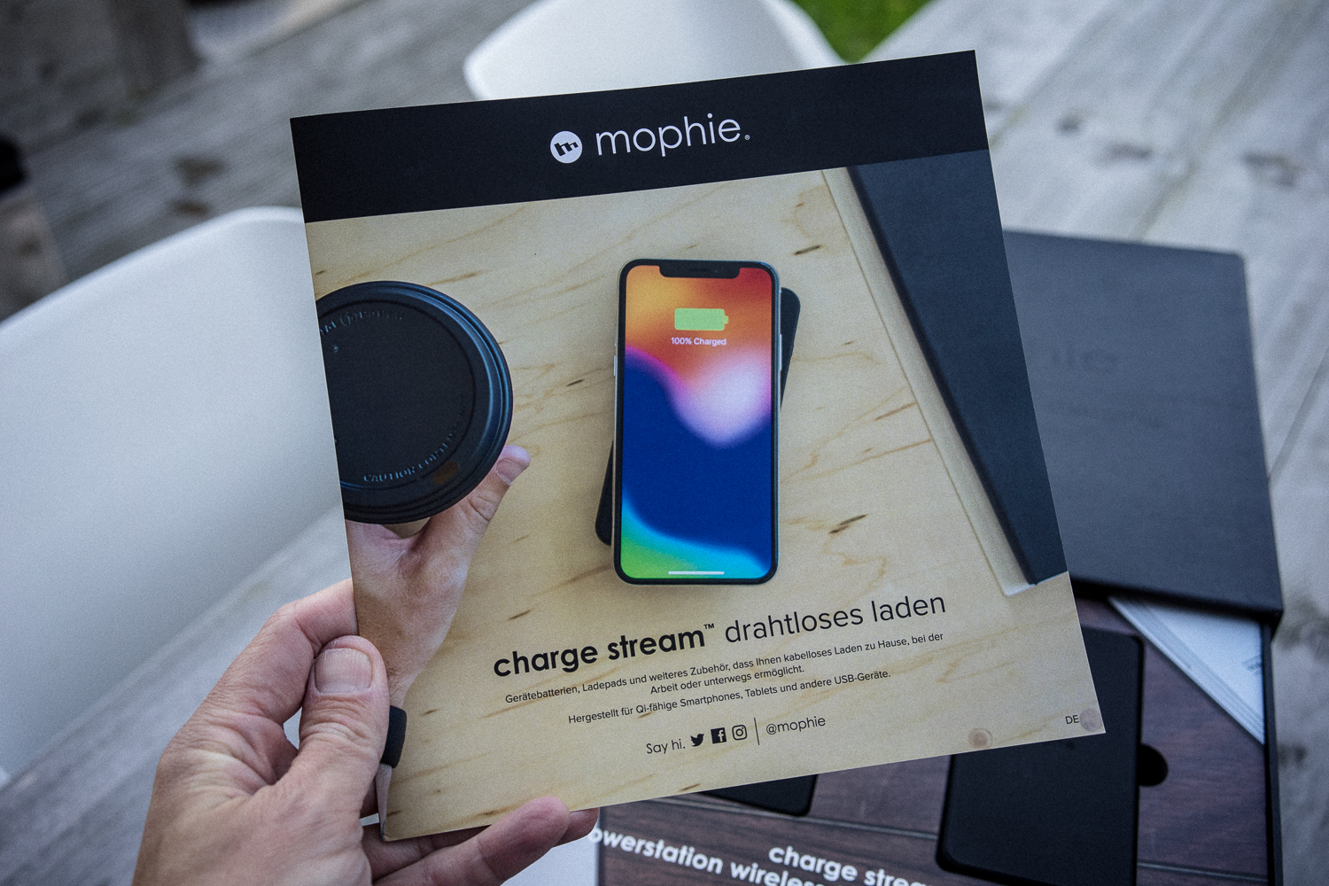 mophie wireless charging iphone xs