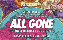 ALL GONE Book Launch Berlin