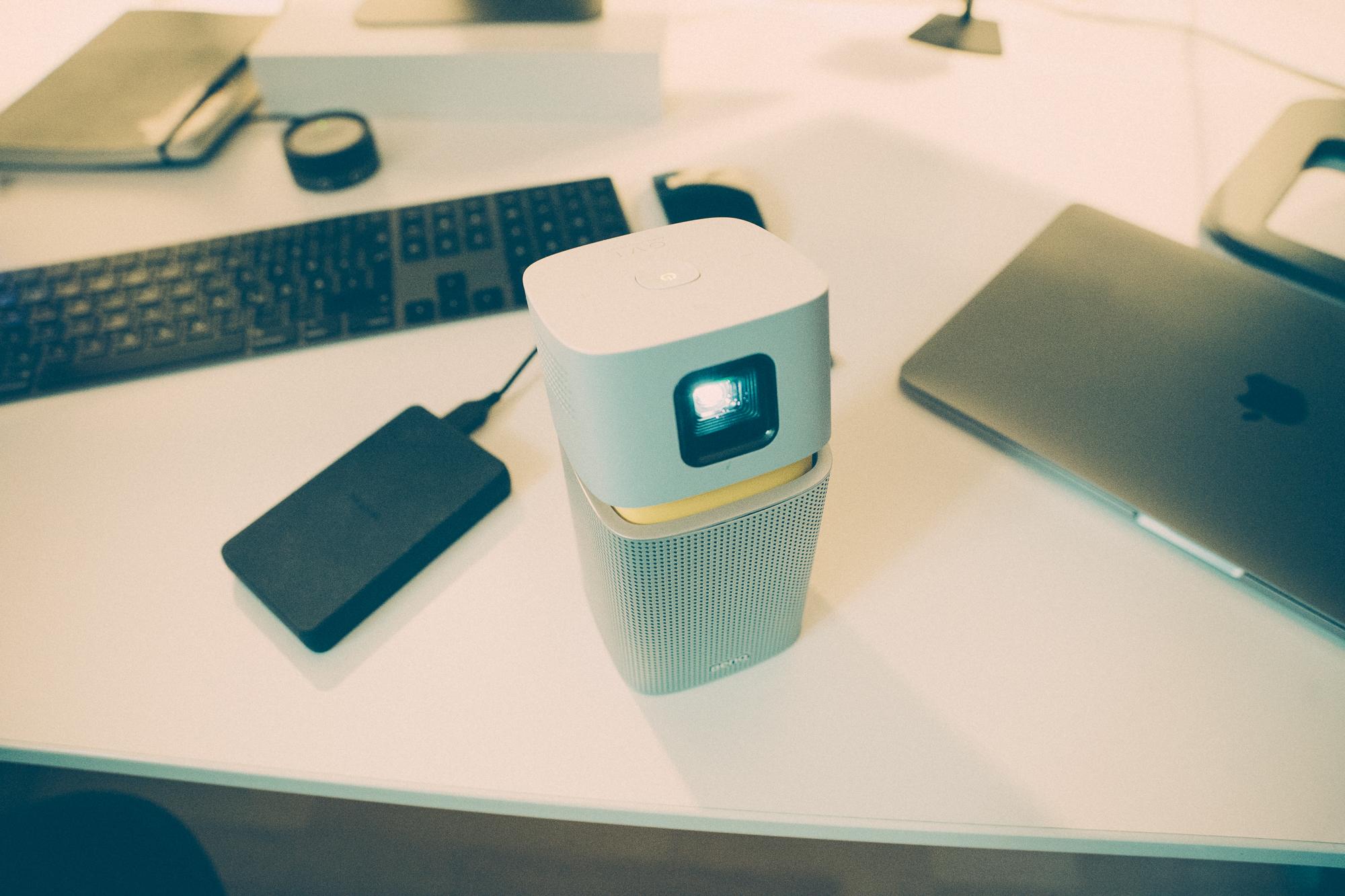 BenQ GV1 LED Beamer