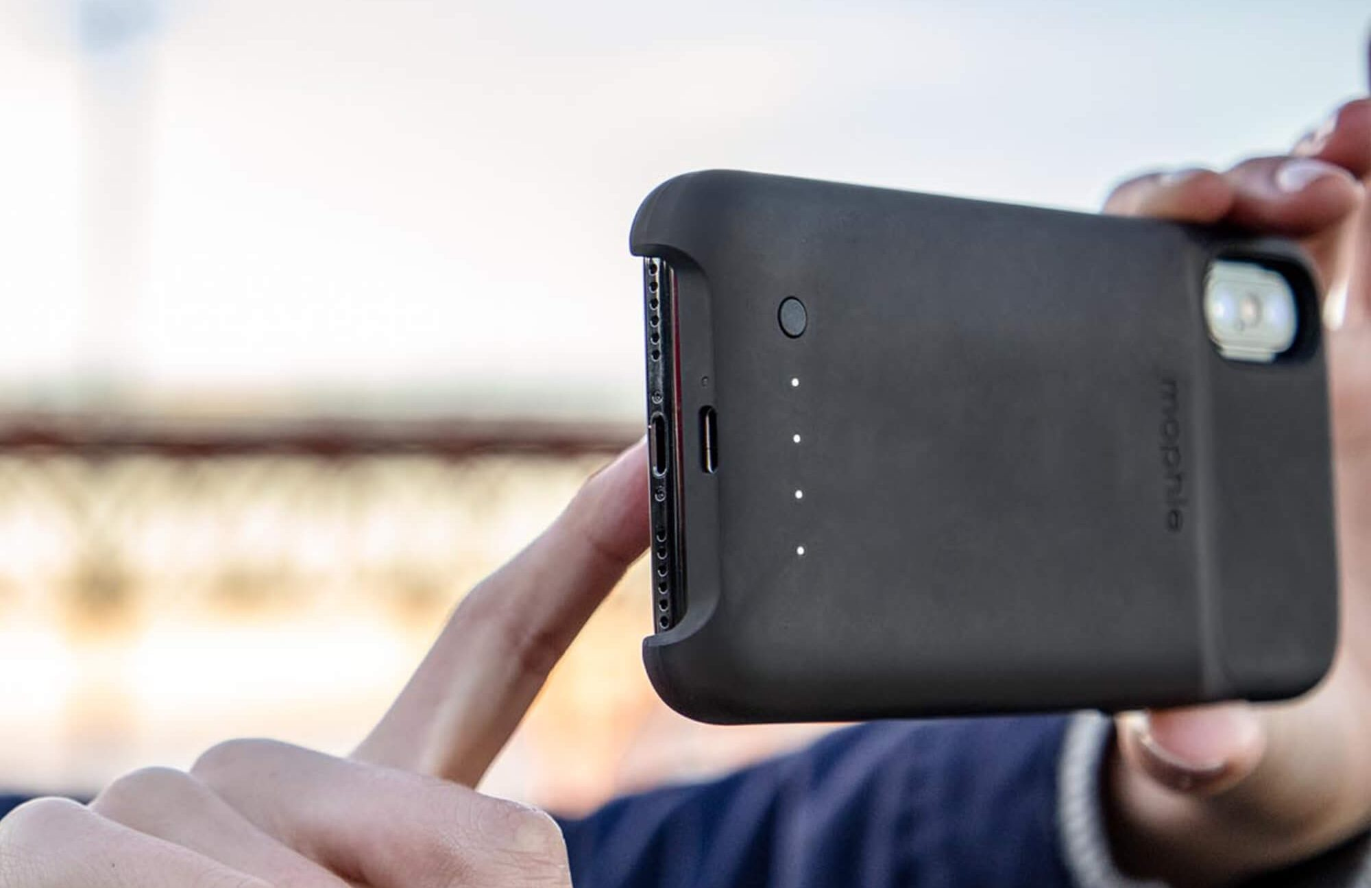 Mophie Wireless iPhone CS XR Case
