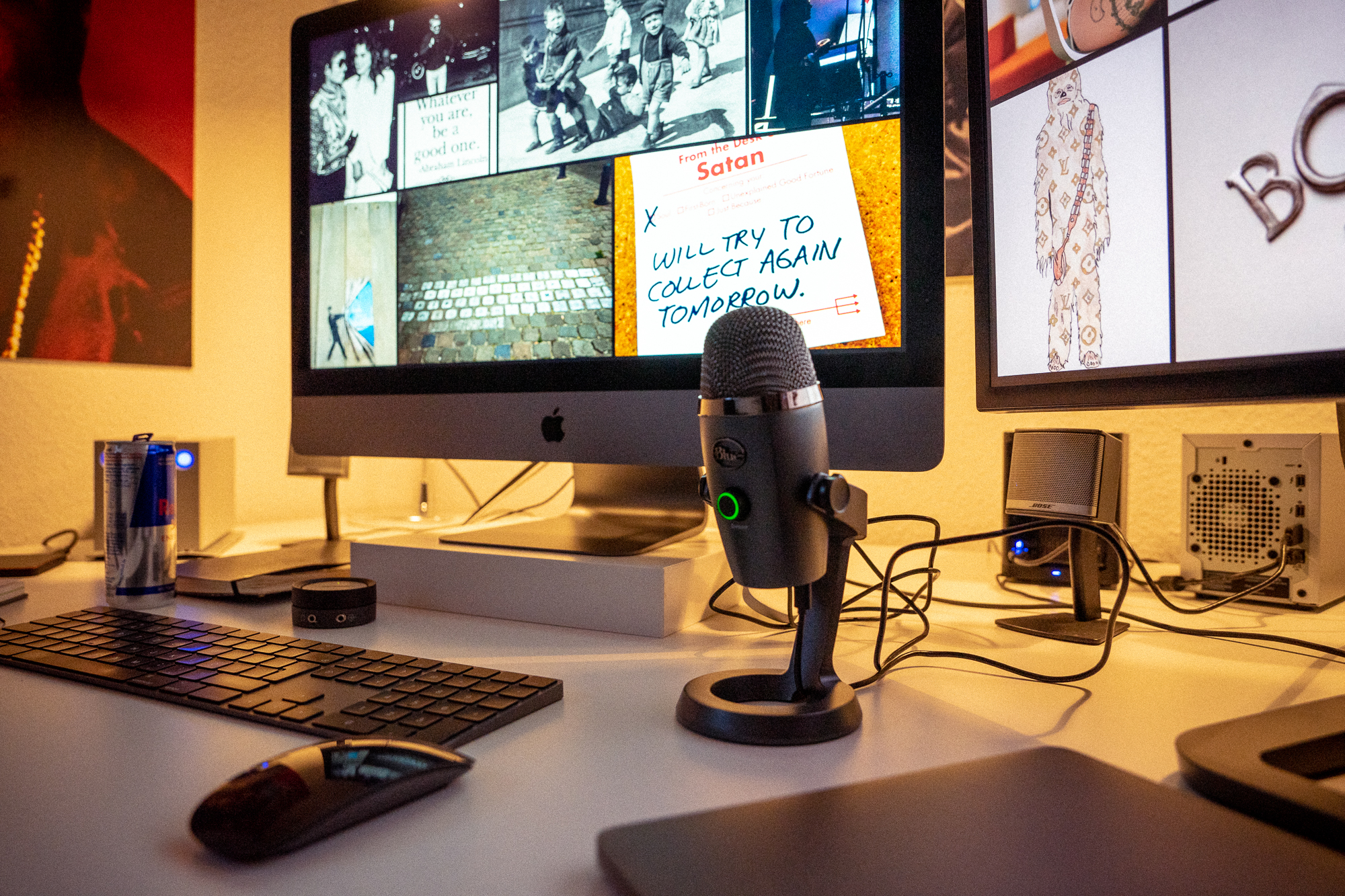 Blue Yeti Nano Podcast YouTube Mikrofon