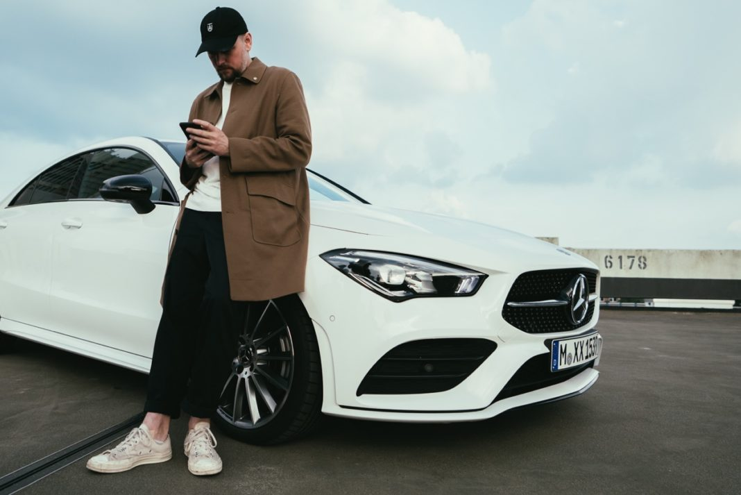 Mercedes-Benz CLA Coupe Feature