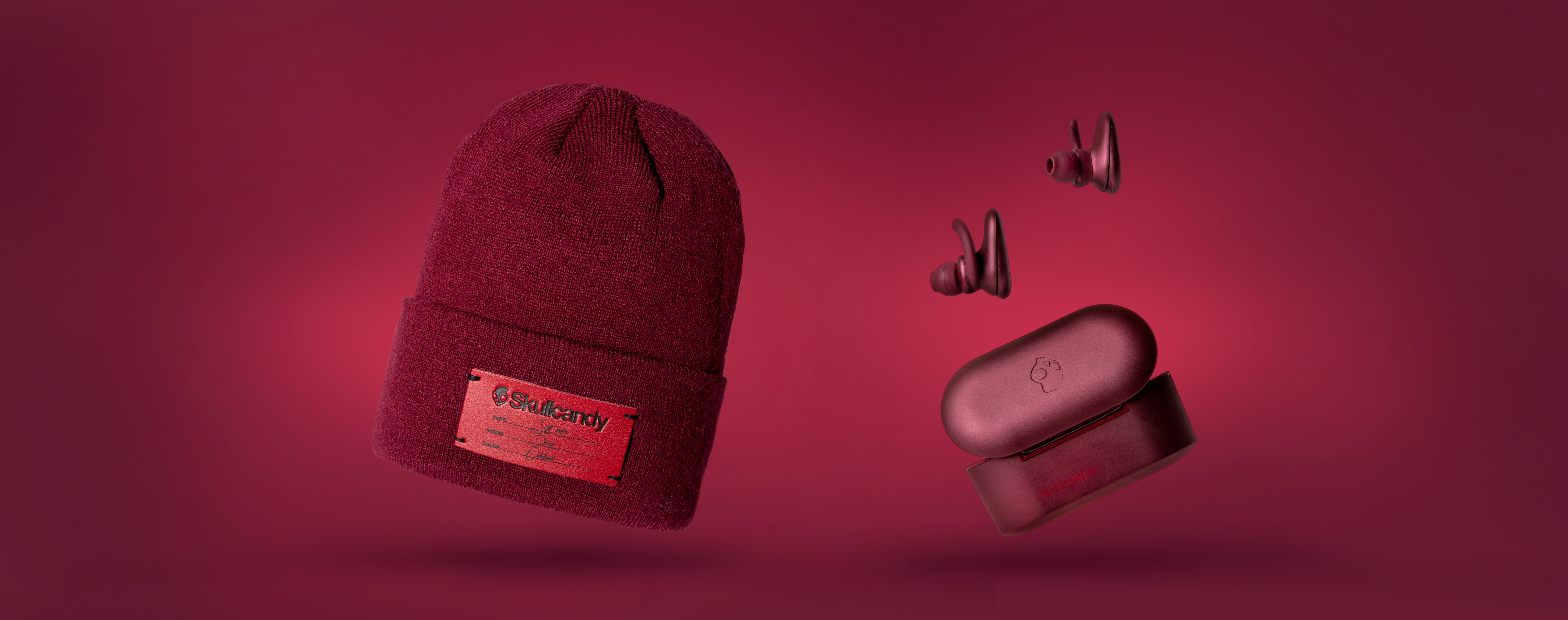 Skullcandy Deep Red