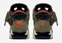 Air Jordan 6 Travis Scott Grade School Sneaker