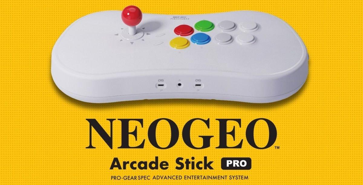 SNK NeoGeo Arcade Stick Pro Gaming