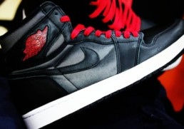 Air Jordan 1 Black Satin