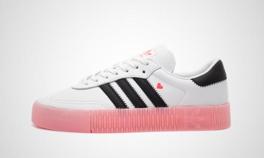 adidas Sambarose W (weiß / rosa) Sneaker