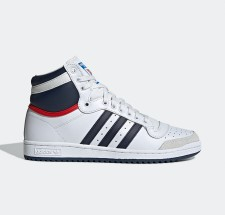 adidas Top Ten Hi - White Navy Red