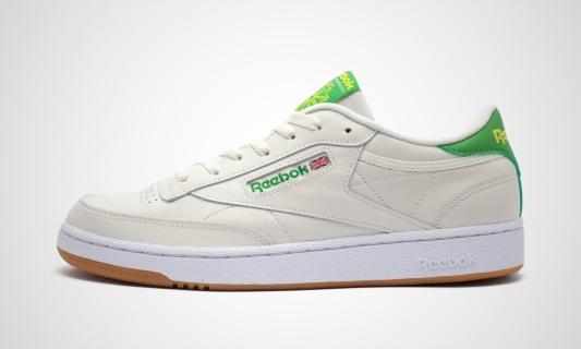 Club C 85 (beige / grün) Sneaker