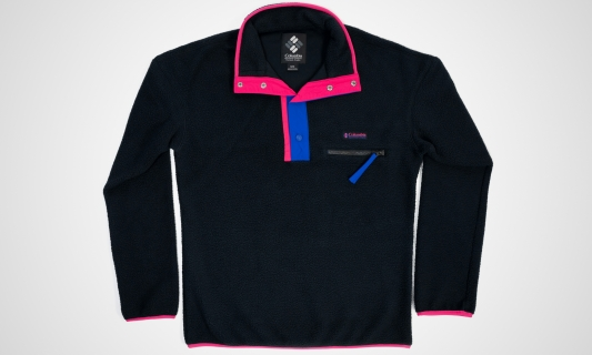 Columbia Helvetia™ Half Snap Fleece (schwarz)
