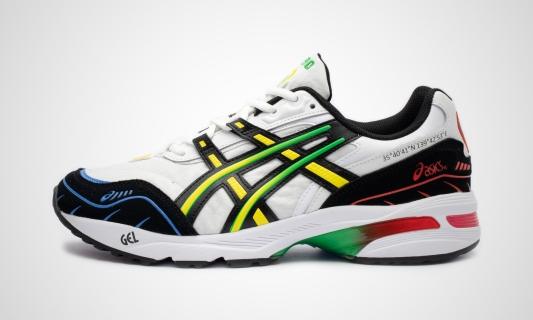 GEL-1090 (weiß / schwarz) Sneaker