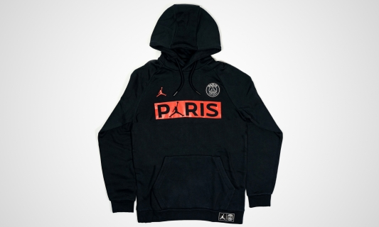 Jordan Paris Saint-Germain Hooded Longsleeve (schwarz)