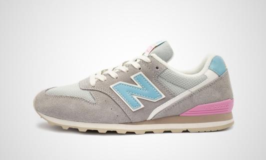 New Balance WL996COL (grau / mint) Sneaker