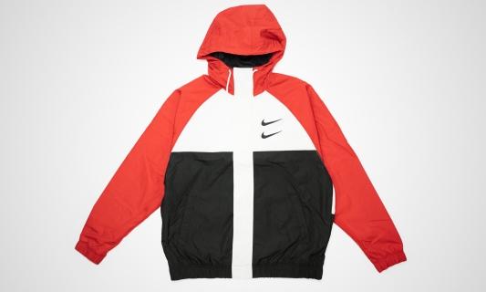 Sportswear Swoosh Jacket (rot / weiß / schwarz)