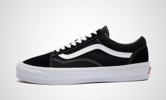 Vans Old Skool LX OG (schwarz / weiß) Sneaker