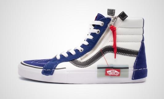 Vans SK8-Hi Reissue CAP (blau / weiß) Sneaker