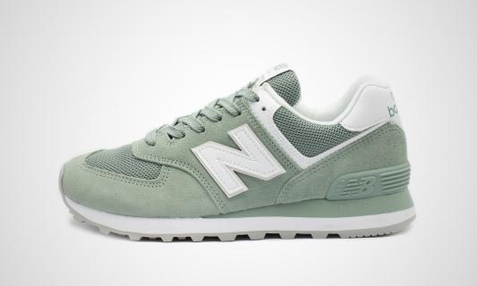 WL574OAD (grün / weiß) Sneaker