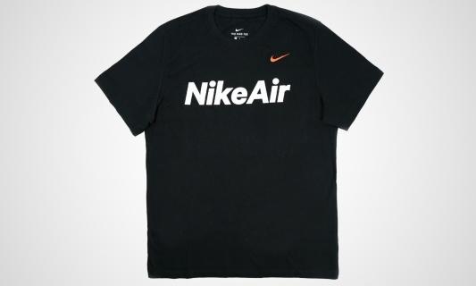 Air T-Shirt (schwarz / weiß)