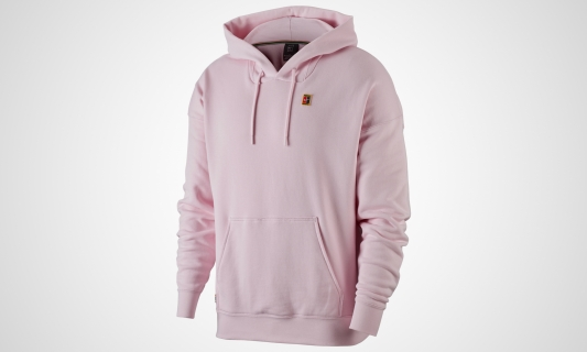 Court Hooded Longsleeve (pink)