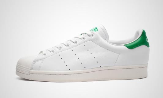Superstan (weiß / grün) Sneaker