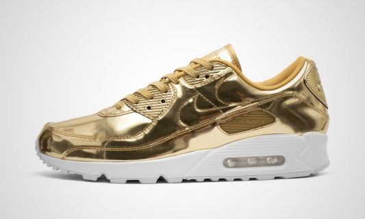 WMNS Air Max 90 SP (gold)