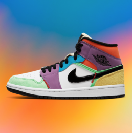 Air Jordan 1 Multicolor