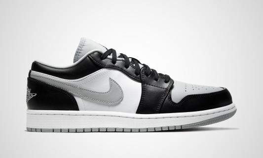 Air Jordan 1 Low (schwarz / weiß)