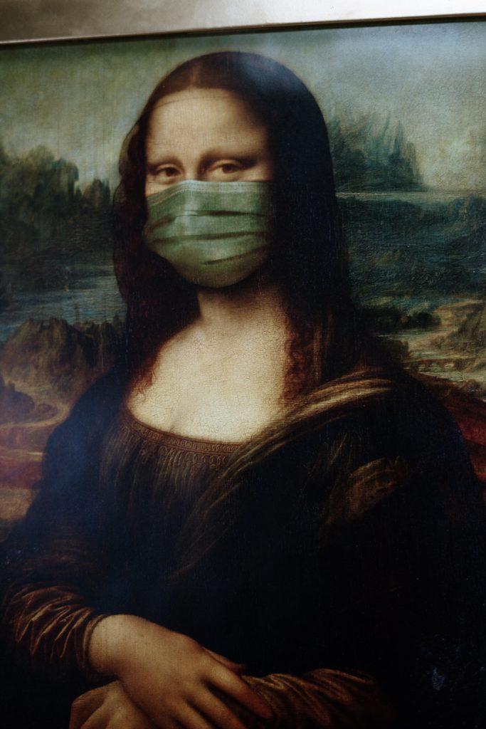 Corona Covid 19 Mona Lisa