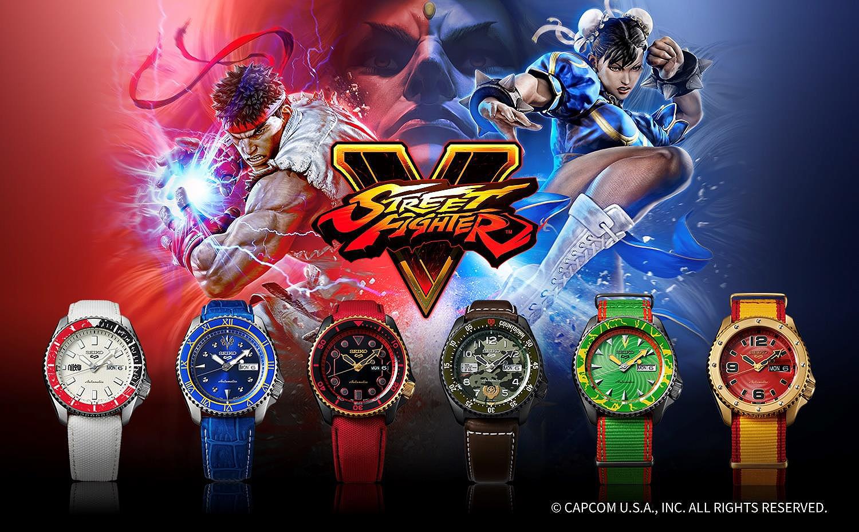 #streetfighter #seiko5sports #SRPF19K1 #SRPF20K1 #SRPF17K1 #SRPF21K1 #SRPF24K1 #SRPF23K1 #showyourstyle #gaming #videogames #streetfighterv