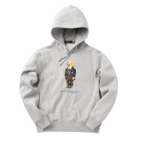 Polo Ralph Lauren Preppy Bear Fleece Hoodie